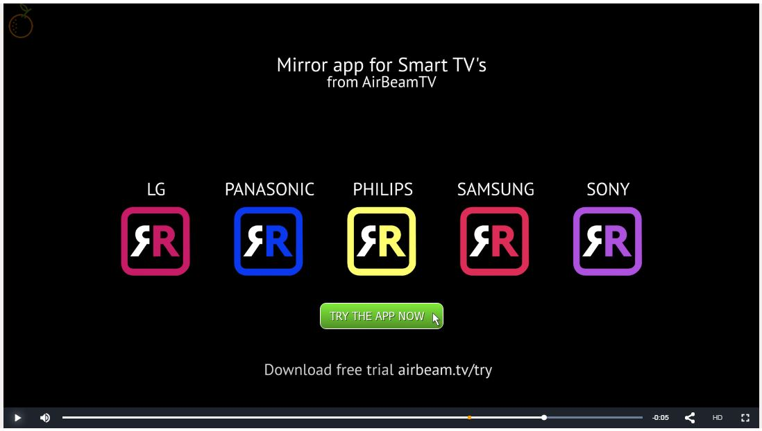 airbeamtv uses interactive video for their products