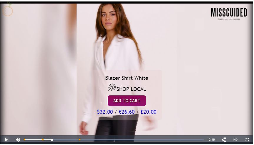 missguided interactive video example