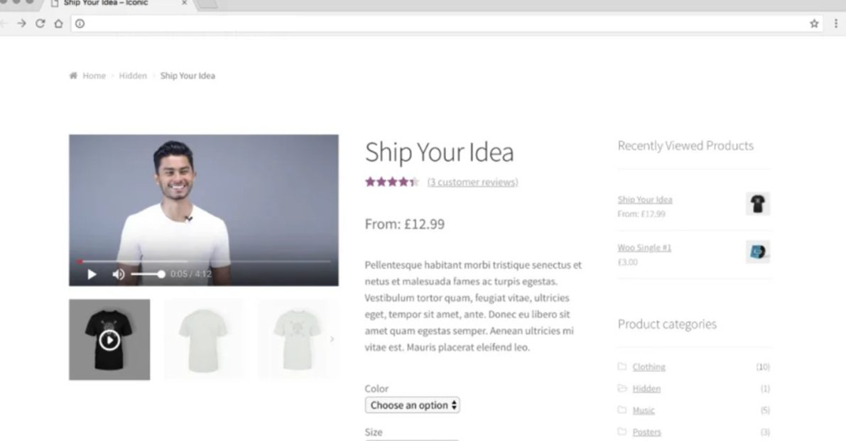 woocommerce video plugin