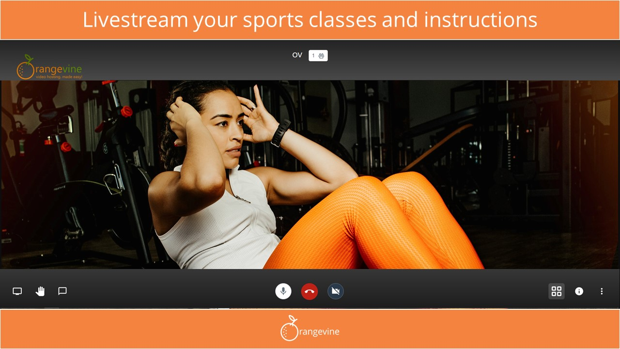 Livestream classes – Orangevine Meet